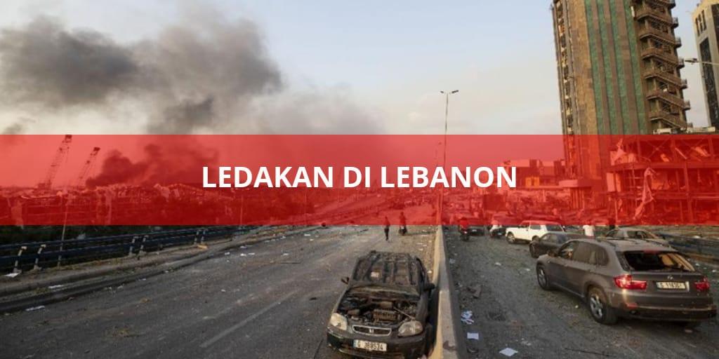 Ledakan di Libanon