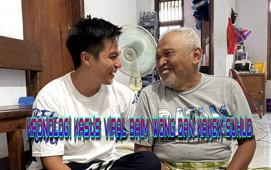 Kronologi Kasus Viral Baim Wong dan Kakek Suhud